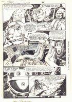 G.I. Combat #282 p.21 - Astronauts in Ship - 1986 Signed Comic Art