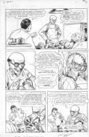 Battle Aces #1 p.8 Nazi Scientist Experiments Comic Art