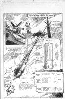 Delta Rush Impulse Ship Pin-Up - Sci-Fi  Comic Art