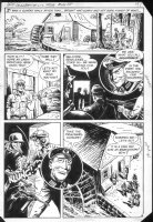 G.I. Combat #250 p.8 Haunted Tank Story vs Nazi Comic Art