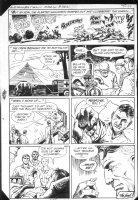 G.I. Combat #251 end pg. Battle Action! Surgery page Comic Art