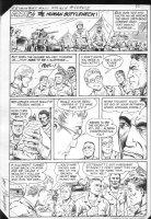 G.I. Combat #251 p.9 Haunted Tank Part Two: Human Bottleneck! Comic Art