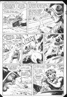 G.I. Combat #257 p.7 Haunted Tank Battle! Comic Art