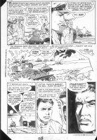 G.I. Combat #260 p.9 Haunted Tank Battle Comic Art