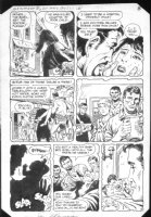 G.I. Combat #265 p.8 Crew delivers baby Comic Art