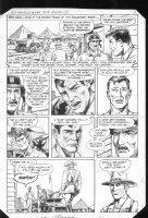 G.I. Combat #266 p.3 Haunted Tank & Rommel Comic Art