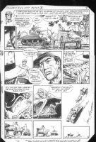 G.I. Combat #269 p.8 Haunted Tank  Comic Art