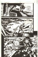 Nightwing #26 p.4 - Torque (Dudley Soames) - 1998 Signed Comic Art