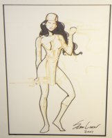 Elektra Commission - 2003 Signed Comic Art