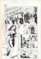Elektra #26 p.7 - Sexy Elektra - 2003 Signed Comic Art
