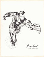 Iron Man Commission - 2017 Signed Comic Art