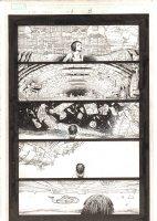 X-Men: The End #1 p.5 - Reality Falling Apart Around Aliyah Bishop - 2004 Comic Art