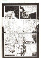 X-Men: The End #1 p.20 - Aliyah Bishop and Binary (Carol Danvers) - 2004 Comic Art