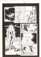 X-Men: The End #1 p.23 - Aliyah Bishop, Binary (Carol Danvers), & Jean Grey - 2004 Comic Art