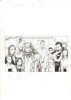 X-Men: The End #15 p.1 - Beast with his Family Recap - 2006 Comic Art