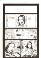 X-Men: The End #15 p.2 - Kitty Pryde running for Mayor of Chicago - 2006 Comic Art