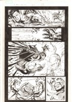X-Men: The End #15 p.15 - Gambit disguised as Mr. Sinister vs. Lord Chancellor Kahn - 2006 Comic Art
