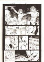 X-Men: The End #15 p.22 - Cassandra Nova vs. Marvel Girl Rachel Summers in Professor Xavier's Mind - 2006 Comic Art