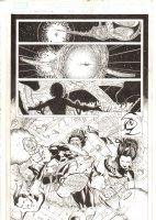 X-Men: The End #16 p.13 - Bishop, Psylocke, & Sage Action Splash - 2006 Comic Art
