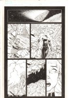 X-Men: The End #16 p.20 - Dazzler, Iceman, and Storm in Ship - 2006 Comic Art