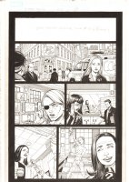 X-Men: The End #17 p.2 - Kitty Pryder Runs for Mayor of Chicago - 2006 Comic Art