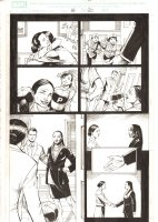 X-Men: The End #18 p.20 - President of the United States Kitty Pryde with her Kids and Alice Tremaine - 2006 Comic Art