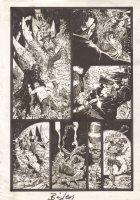 Four Horsemen of the Apocalypse - Gory Action - Signed Comic Art