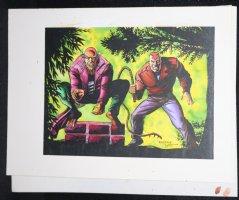Valiant? Villains Color Art Comic Art