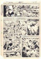 Ka-Zar the Savage #23 p.14 - Savage Land and Dinosaurs - Sketches on Back - 1983 Comic Art