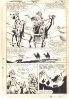 Ka-Zar the Savage #23 p.24 - Ka-Zar and Ramona Starr of A.I.M. on Camel - 1983 Comic Art
