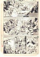 Ka-Zar the Savage #24 p.2 - Ka-Zar, Ramona Starr of A.I.M., and Zabu Action - 1983 Comic Art