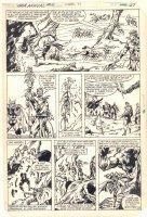 Thor Annual #10 p.23 - Great Hela - 1982 Comic Art