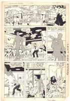 West Coast Avengers #2 p.8 - The Blank Robs a Bank - Wonder Man App - 1984 Signed Comic Art