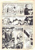 West Coast Avengers #3 p.16 - The Shroud, Wonder Man, and Tigra - 1984 Signed Comic Art