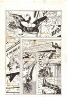 Shadowman #31 p.12 - Shadowman Swinging - 1994 Comic Art