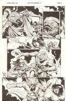 Conan the Cimmerian #14 p.13 - Young Conan Spears Lizard Monster - 2009 Signed Comic Art