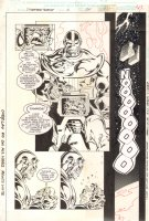 Spider-Man Team-Up #2 p.34 - Awesome Thanos - 1996 Comic Art