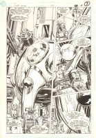 Captain Atom #34 p.5 - Splashy Dr. Mengala - 1989 Comic Art