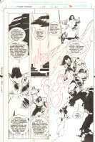 Silver Surfer - Issue 113 Pg 21 - Harguis Tey Page Comic Art