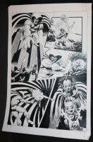 Spectre #? p.4 - LA - Spectre vs. Demon Comic Art