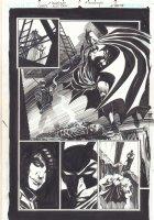 Carpe Noctem #11 p.3 - Great Batman Splash - Signed Comic Art