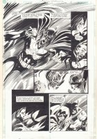 Martian Manhunter #22 p.18 - Demon Batman Splash - 2000 Signed Comic Art