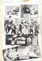 Martian Manhunter #1,000,000 p.3 - Justice Legion App - 1998 Signed Comic Art
