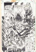 Mr. Mxyzptlk (Villains) #1 p.18 - Lobo and Mr. Mxyzptlk Splash - 1998 Comic Art