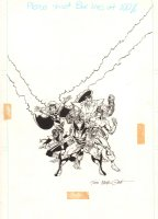 X-Men Animated Series 'Pryde of the X-Men' VHS Cover Art - 1991  Comic Art