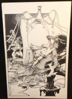 Dejah Thoris Nude Commission - 2008 Signed Comic Art