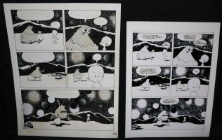 Lunar Tunes p.17 - LA - Comes with Pre Press Page - Wood's Last Comics Work Comic Art