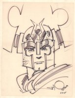 Heimdall? from Thor Vintage Commission - 1985 Signed Comic Art