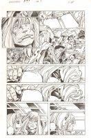 Avengers #27 p.3 - Thor and Ms. Marvel - 2012 Comic Art