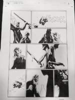 Hellboy in Hell #3 p.12 - 2014 Signed Comic Art